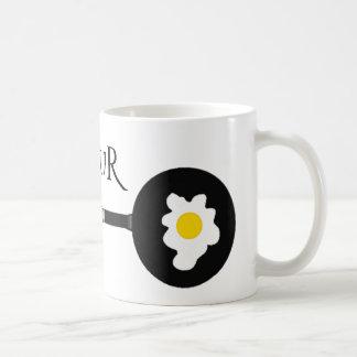Eggscalibur Frying Pan Sword Coffee Mug