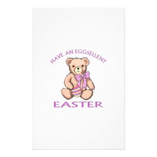 Eggsellent Easter Stationery