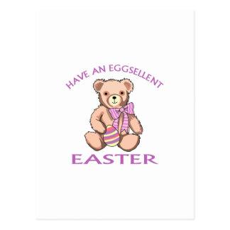 Eggsellent Pascua Tarjetas Postales