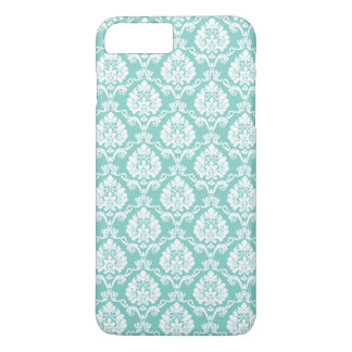 Eggshell Blue Damask iPhone 8 Plus/7 Plus Case