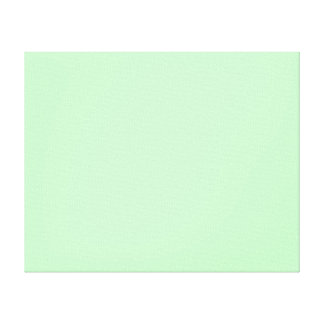 Eggshell Blue Green Pastel Color Background Canvas Print