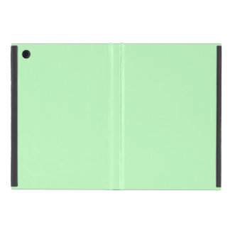 Eggshell Blue Green Pastel Color Background Cover For iPad Mini