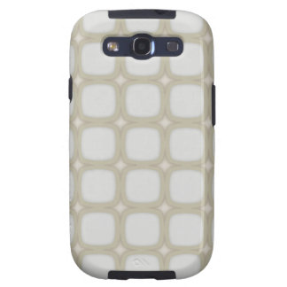 Eggshell Retro Rounded Squares Galaxy SIII Case