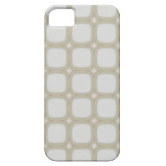 Eggshell Retro Rounded Squares iPhone 5 Cases