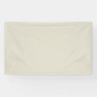 Eggshell White Star Dust Banner