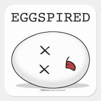 Eggspired-(Expired) Dead Egg Square Sticker