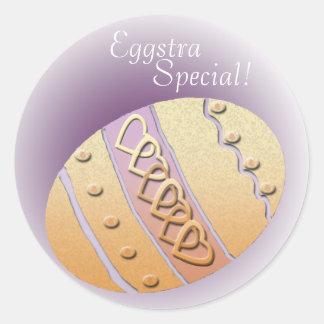 Eggstra Special! Classic Round Sticker