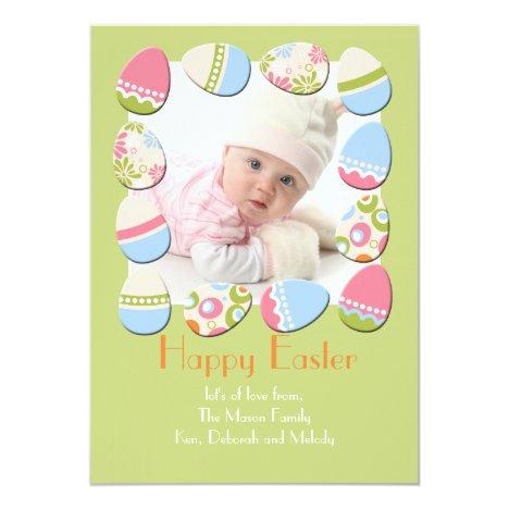 Eggstravaganza Photo Easter Card