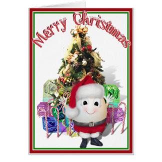 Eggstrordinary Christmas Greeting Card