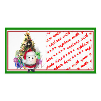 Eggstrordinary Christmas Custom Photo Card
