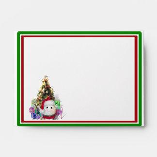Eggstrordinary Santa Christmas Egg Envelopes