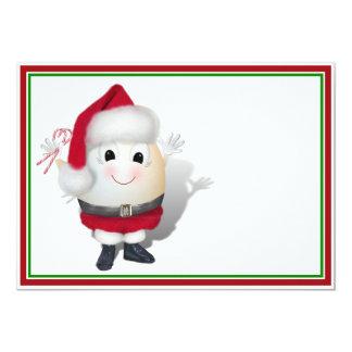 Eggstrordinary Santa Christmas Egg Announcement