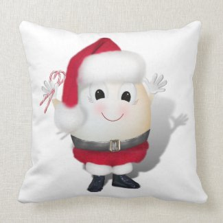 Eggstrordinary Santa Christmas Egg Pillows