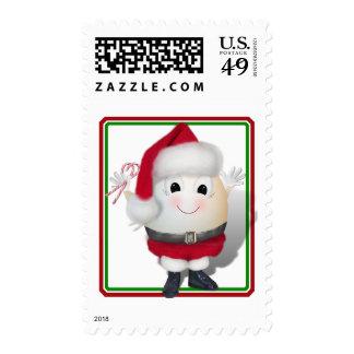 Eggstrordinary Santa Christmas Egg Stamp