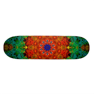EggsZadger8 Mandala Skateboard