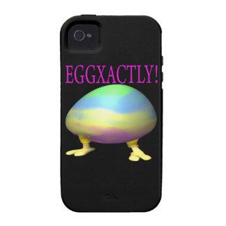 Eggxactly iPhone 4 Fundas