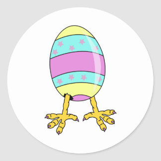 Eggy Classic Round Sticker