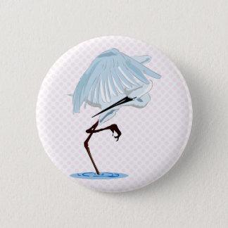 Eggy Egret Button