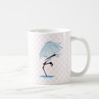 Eggy Egret Mugs
