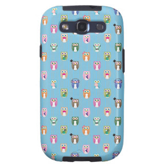 Eggy Owls - orderly ver - Galaxy SIII Cases