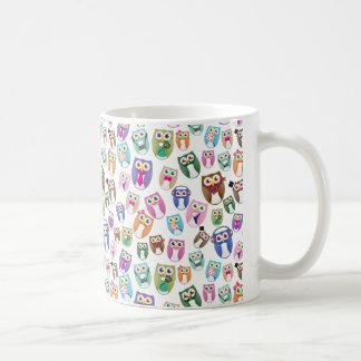 Eggy Owls - scramble ver - Coffee Mug