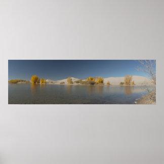 Egin Lakes Panorama Posters