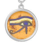 Egipcio antiguo el ojo de Horus Collar Personalizado