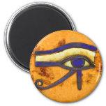 Egipcio antiguo el ojo de Horus Imanes De Nevera