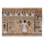 Egipcio antiguo felicitacion