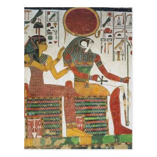 Egipcio antiguo Horus Postal