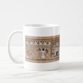 Egipcio antiguo taza de café
