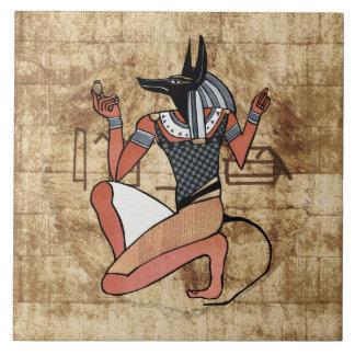 Egipcio de Anubis The Guardian Teja Ceramica