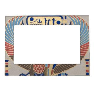 Egipcio del Cartouche del pájaro de la serpiente d Marcos Magneticos Para Fotos