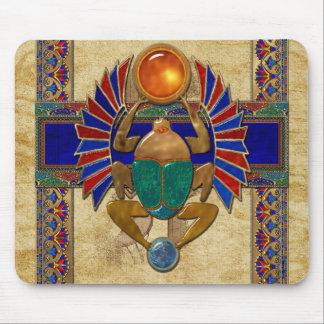 Egipcio del sarcófago 3D Alfombrillas De Raton