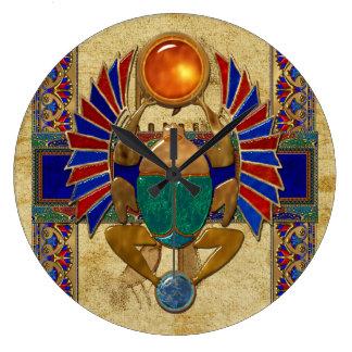 Egipcio del sarcófago 3D Relojes