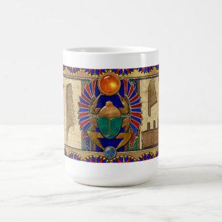 Egipcio del sarcófago 3D Taza De Café
