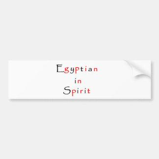 Egipcio en pegatina del Alcohol-parachoque Pegatina De Parachoque