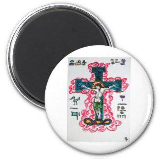 Egipcio Jesús Imán Redondo 5 Cm