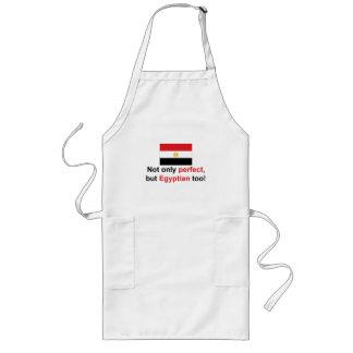 Egipcio perfecto delantal largo
