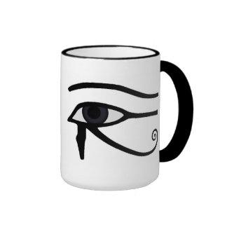 Egipcio Taza De Dos Colores