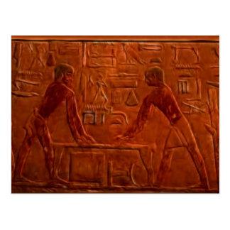 EGIPCIOS ANTIGUOS TARJETA POSTAL