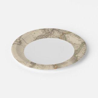 Egipto 16 plato de papel de 7 pulgadas