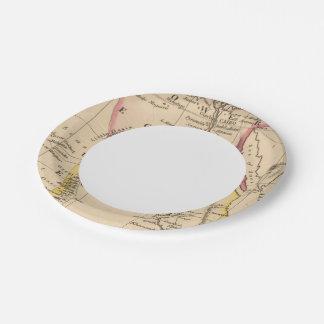 Egipto 2 plato de papel de 7 pulgadas