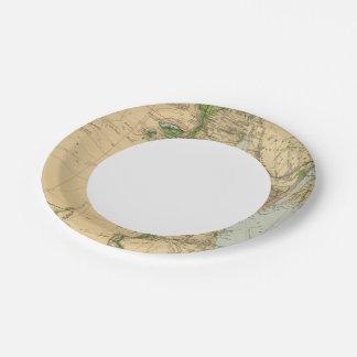 Egipto 5 2 plato de papel de 7 pulgadas