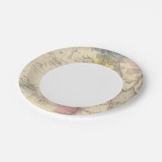 Egipto 5 plato de papel de 7 pulgadas