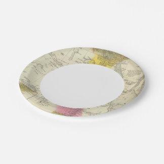 Egipto 6 plato de papel de 7 pulgadas