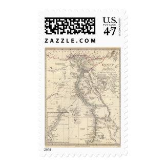 Egipto 6 timbre postal