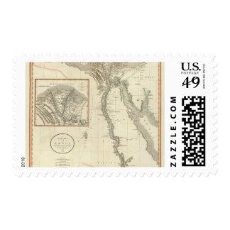 Egipto 8 sellos postales