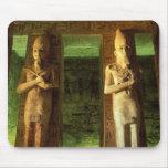 Egipto, Abu Simbel, estatua de Ramesses II, Tapete De Ratón