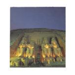 Egipto, Abu Simbel, figuras colosales de Ramesses Blocs